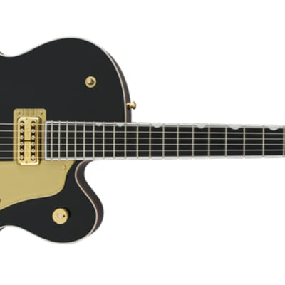 Gretsch G6136T-BLK PLAYERS EDITION FALCON WITH STRING-THRU BIGSBY, FILTER'TRON PICKUP, BLACK