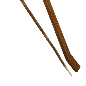 Mid-East TUPB Wooden Beater and Switch for Tupan