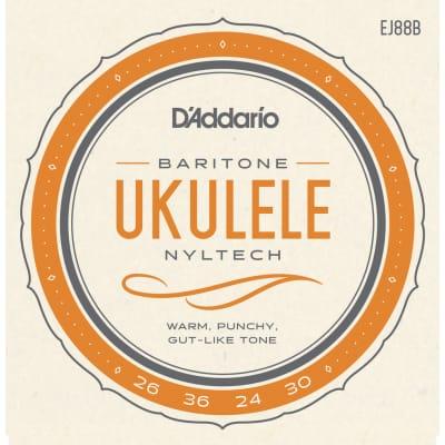 D'Addario EJ88B Nyltech Ukulele Baritone