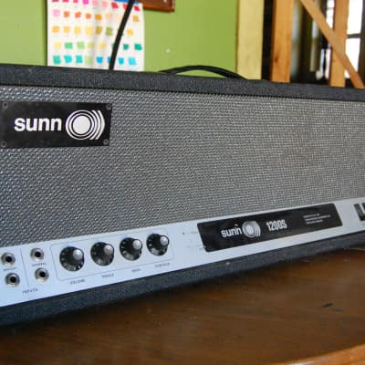 early sunn 1200s or 2000s?  dynaco tansformers RCA tubes guitar/bass amp 1969 for sale