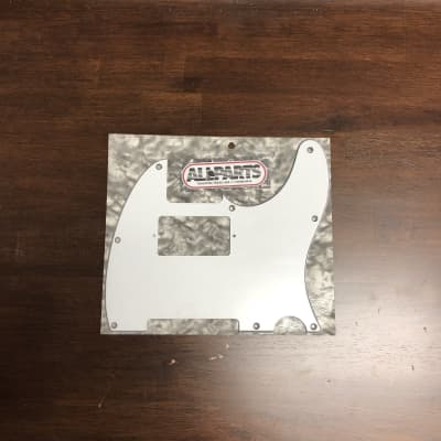 Allparts White Humbucking Pickguard for Telecaster for sale