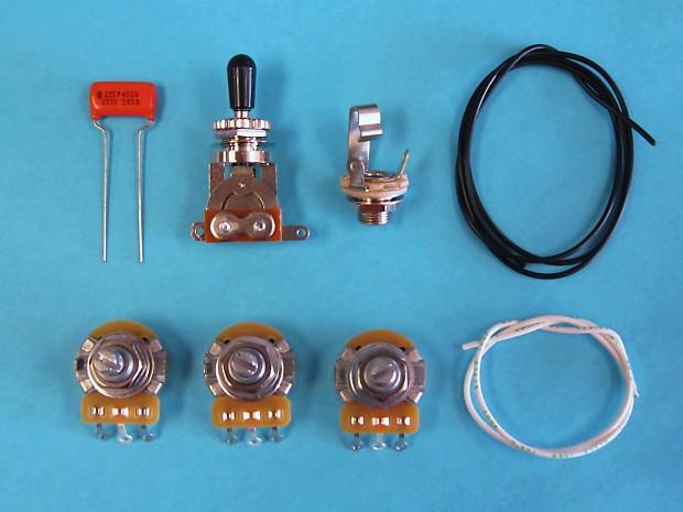 am guitar works 2 volume 1 tone 1 toggle guitar wiring kit reverb. Black Bedroom Furniture Sets. Home Design Ideas