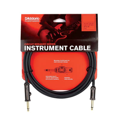 Planet Waves Circuit Breaker Instrument Cable (10 ft)