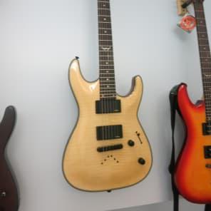 Dean Dean Custom 450 Flame Top Electric Guitar w/EMG Pickups - Gloss Natural Gloss Natural for sale