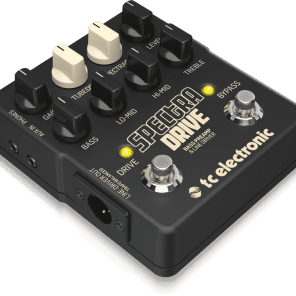 TC Electronic Spectra Drive Bass Preamp & Line Driver Pedal!