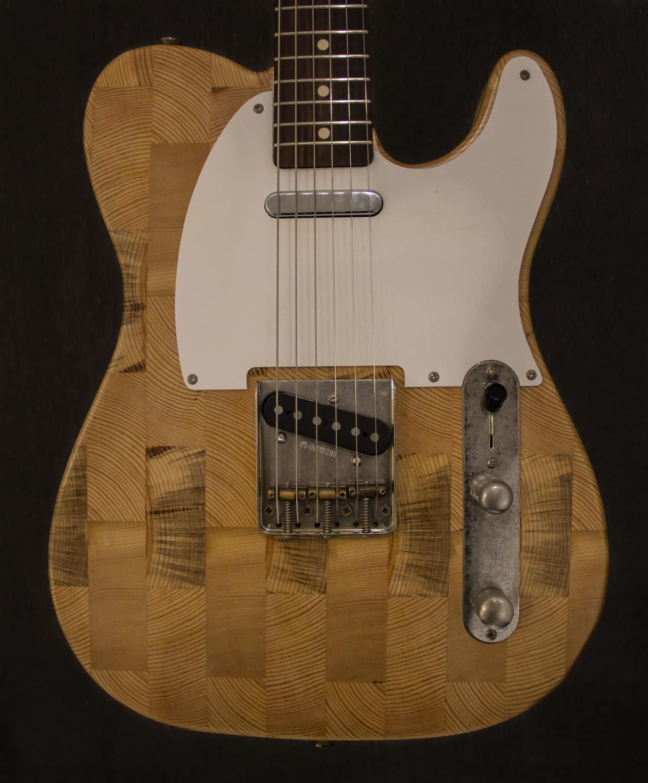Wallace Detroit Guitar Made From Reclaimed Wood From