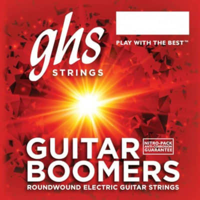 GHS Boomers Guitar Strings Roundwound Electric Extra Light 09-42