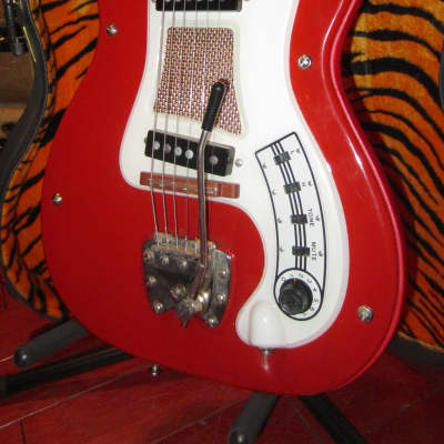 Vintage 1963 Hagstrom Hagstrom I Double Pickup Electric Red for sale