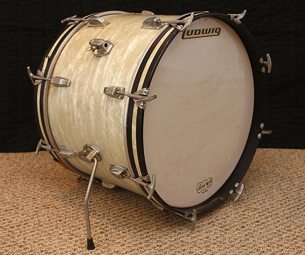 vintage ludwig 14 x 20 bass drum 1968 keystone reverb. Black Bedroom Furniture Sets. Home Design Ideas