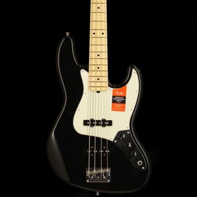 American Pro Jazz Bass, Maple Fingerboard, Black