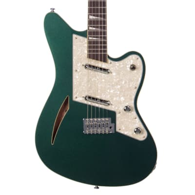 Eastwood Guitars Surfcaster - Metallic Green - Charvel-inspired Offset Electric Guitar - NEW!