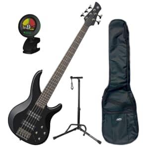 Yamaha TRBX305 BL 5-String Bass Bundle