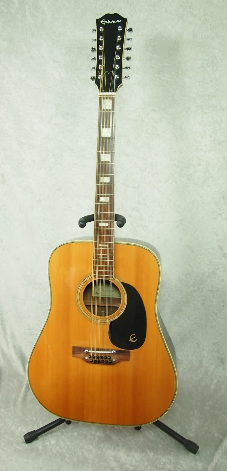 epiphone ft 165 12 string acoustic guitar made in japan reverb. Black Bedroom Furniture Sets. Home Design Ideas
