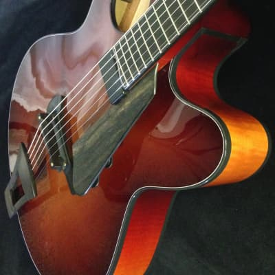 The Eden  Archtop/Larry Robinson Inlay Ribbecke@Healdsburg Guitars for sale