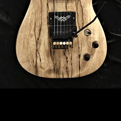 Gandalf guitar Solid Korina by:Black Diamond USA for sale