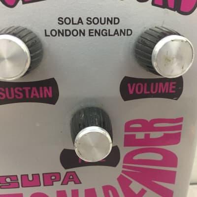 Colorsound Supa Tonebender Pedal - 1990's ??  Reissue for sale