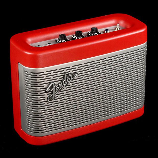 fender newport bluetooth speaker dakota red the music zoo reverb. Black Bedroom Furniture Sets. Home Design Ideas