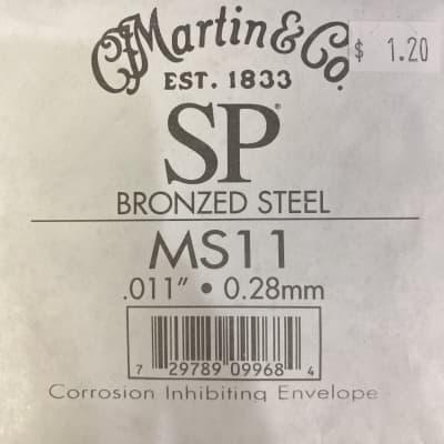 Martin SP Bronzed Steel Single String, .011