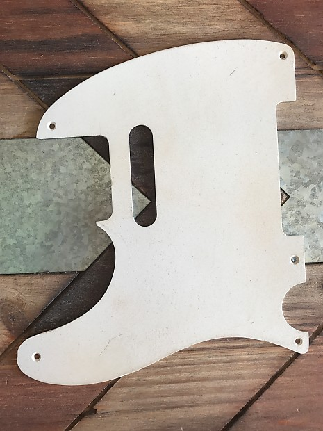 Real Life Relics Tele Telecaster Pickguard 1 Ply 5 Hole Left Reverb