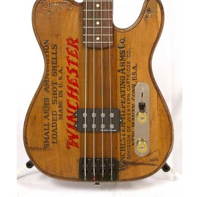 Walla Walla Guitars Maverick Pro Vintage Wood Winchester Bass