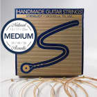 Stringjoy Medium (13-56) Natural Bronze Acoustic Guitar Strings image