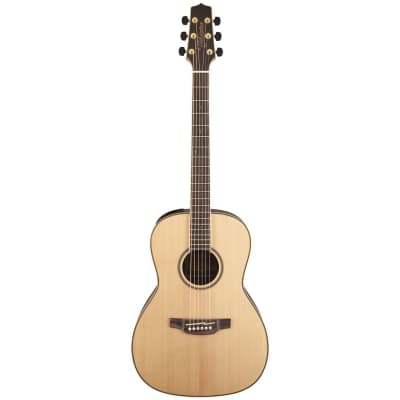 Takamine GY93E New Yorker Parlor Acoustic Electric Guitar, Natural (GY93E-NAT)