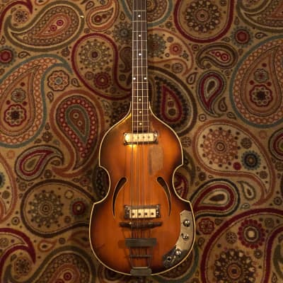 Klira Twen Star hofner violin 1963 Tobacco burst for sale