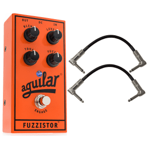 Aguilar Fuzzistor Bass Fuzz Pedal Bundle for sale