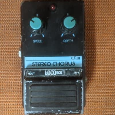 Loco Box Stereo Chorus 1980 Black/Blue Japanese Clone Of The Boss CE-1 for sale