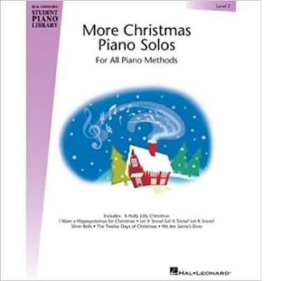 More Christmas Piano Solos For All Piano Methods (Level 2)