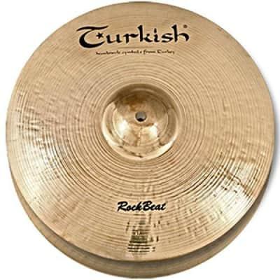 "Turkish Cymbals 12"" Rock Beat Hi-Hat Light"