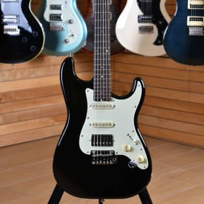 Schecter Traditional Route 66 Arlington HSS Midnight Black for sale