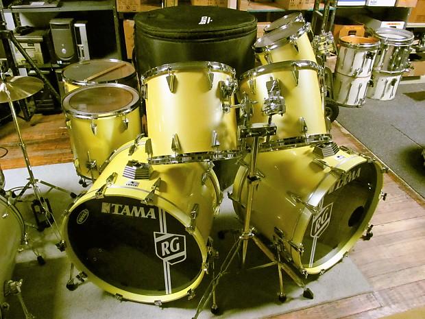 1980s Tama Granstar Double Bass Drum Set