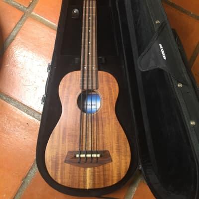 Kala U-Bass Solid Acacia Natural for sale
