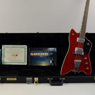 Gretsch G6199B Billy Bo Jupiter Thunderbird Bass Guitar - Firebird Red w/OHSC for sale