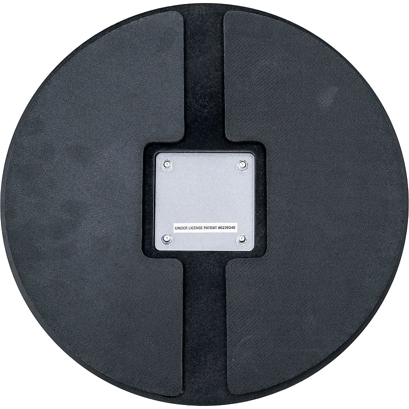 ahead ahshpch 14 black chrome s hoop marching pad with reverb. Black Bedroom Furniture Sets. Home Design Ideas