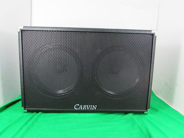 Carvin 2x12 Guitar Speaker Cabinet 200 Watt - Has (2) GT12 | Reverb