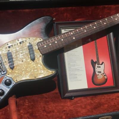 Fender Mustang 1972-1973 Vintage Burst