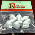 Kluson White Chicken Head Amp Knobs fits EVH III and Fender Tweed image