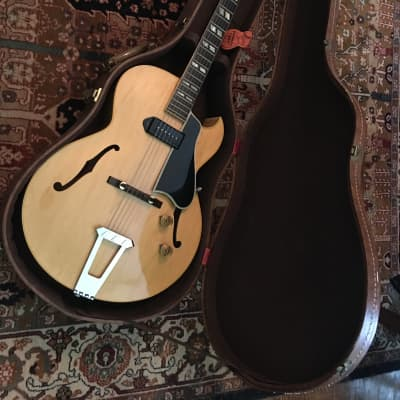 Gibson ES175 1956 Natural Maple