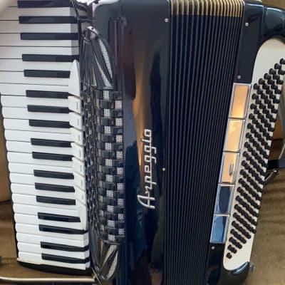 Black Arpeggio Piano Accordion LMH 41 120