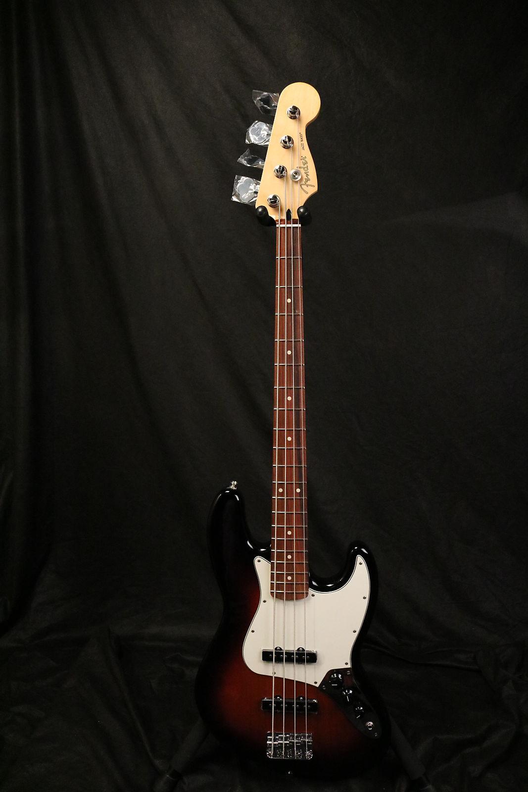 Fender Player Jazz Bass 2018 3 Tone Sunburst