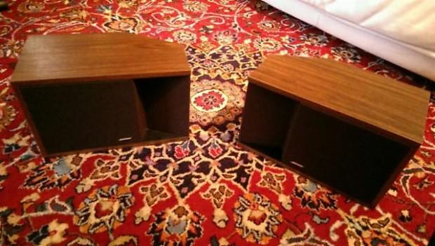 Bose 201 Series Ii Vintage Retro Direct Reflecting Bookshelf Speakers