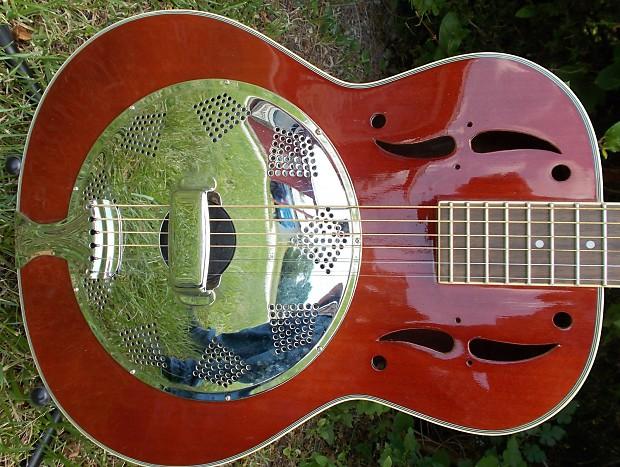 how to play resonator slide guitar
