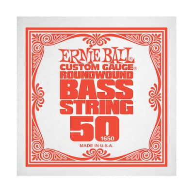 Ernie Ball 1650 50 Roundwound Bass Single String