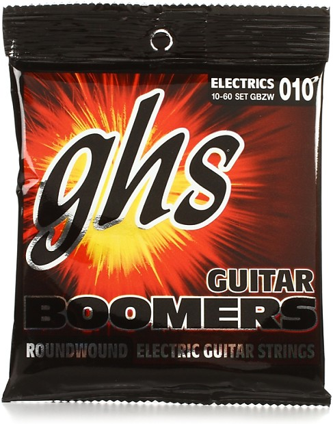 ghs gbzw guitar boomers electric guitar strings 010 060 reverb. Black Bedroom Furniture Sets. Home Design Ideas