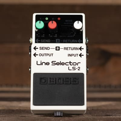BOSS LS-2 Line Selector Pedal for sale