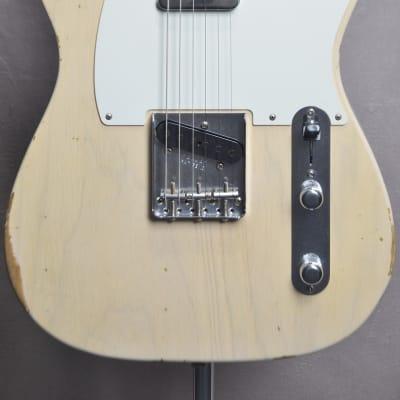 Fender Custom Shop Relic 1954 Telecaster White Blonde