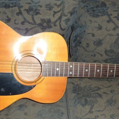 Ensenada  12 String Acoustic Guitar Vintage 1970's Model GT80 for sale