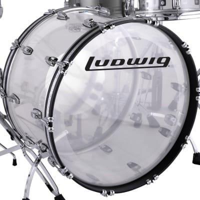 "Ludwig Vistalite Reissue 14x22"" Bass Drum"